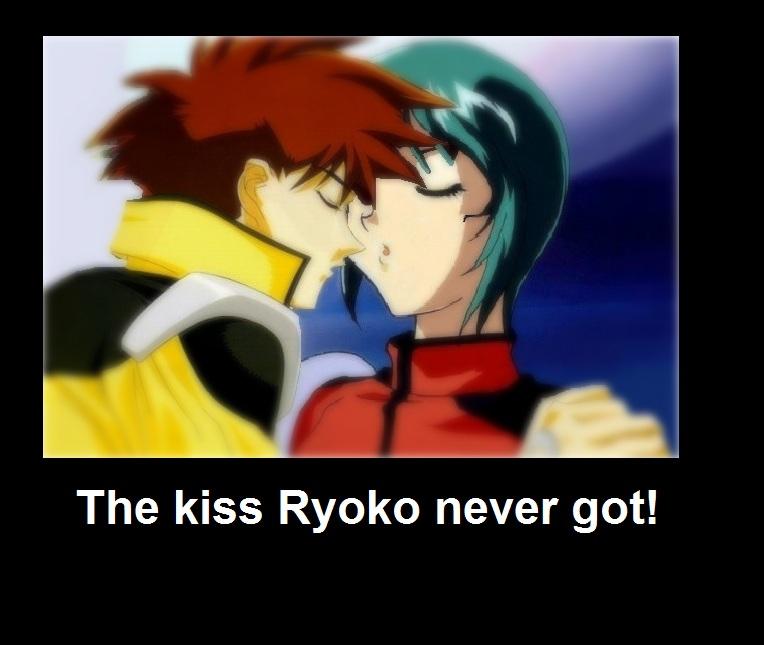 The kiss Ryoko never got by Freezing Vibration Kiss