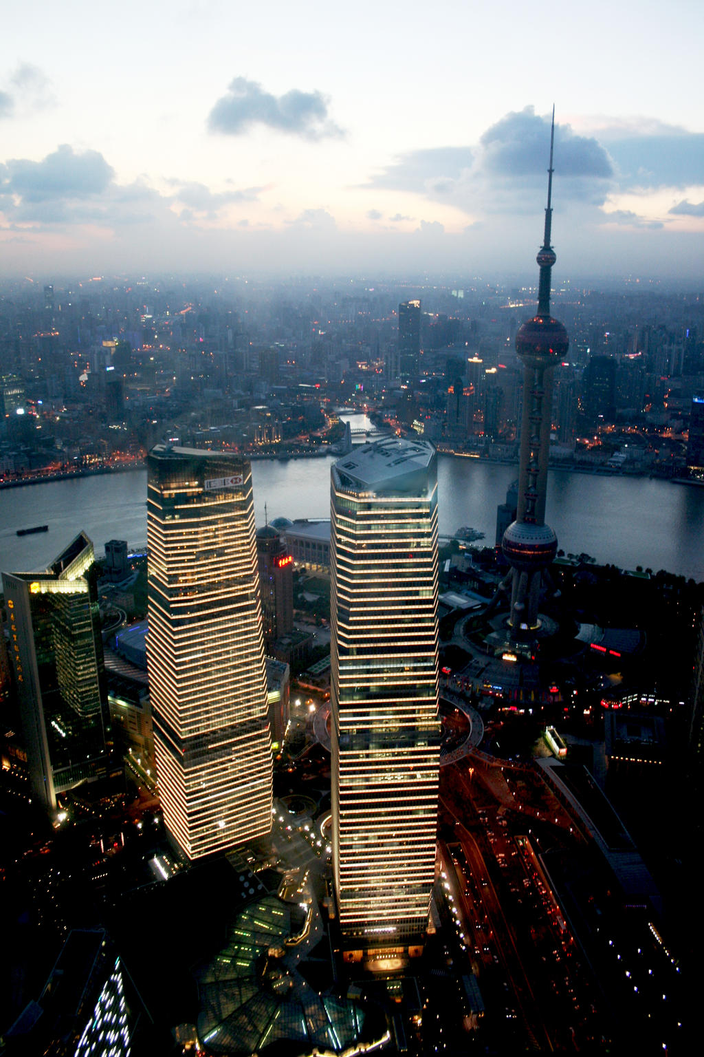 Shanghai Skyline by Janina-Photography