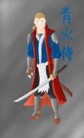 Blue Fire Samurai