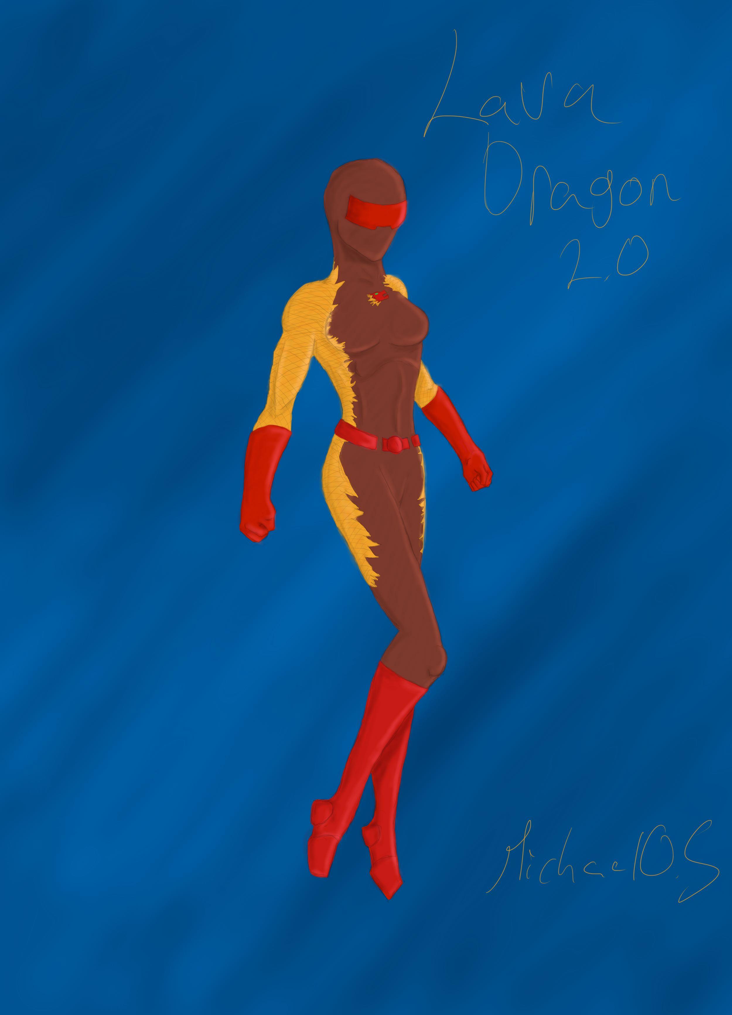 Lava Dragon 2.0