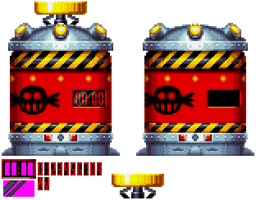 Sonic Mania - Trapsule Sprite by DogeMayo