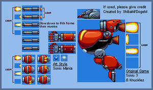 Sonic Mania - Doomsday Mech (Sheet) by DogeMayo