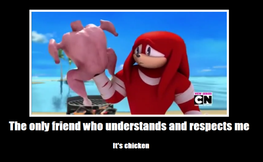 knuckles the echidna on steroids