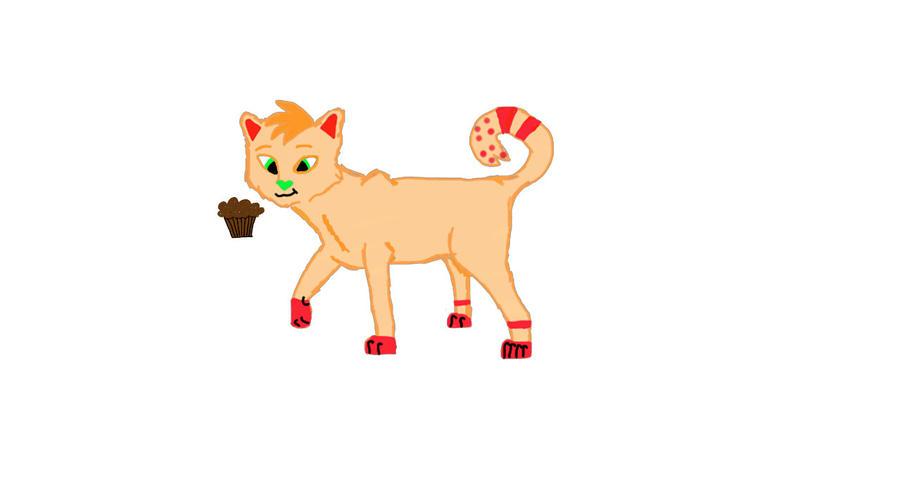 Tangerine Feline (Derpy version) by dancer2017