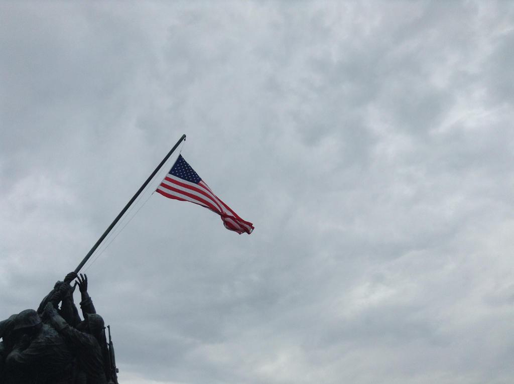 Iwo Jima Memorial by dancer2017