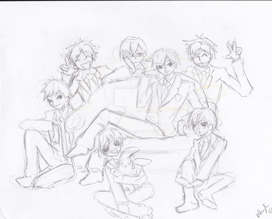 ouran hshc group by kittyface27
