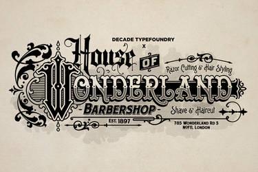 House Of Wonderland Barber by geesucks