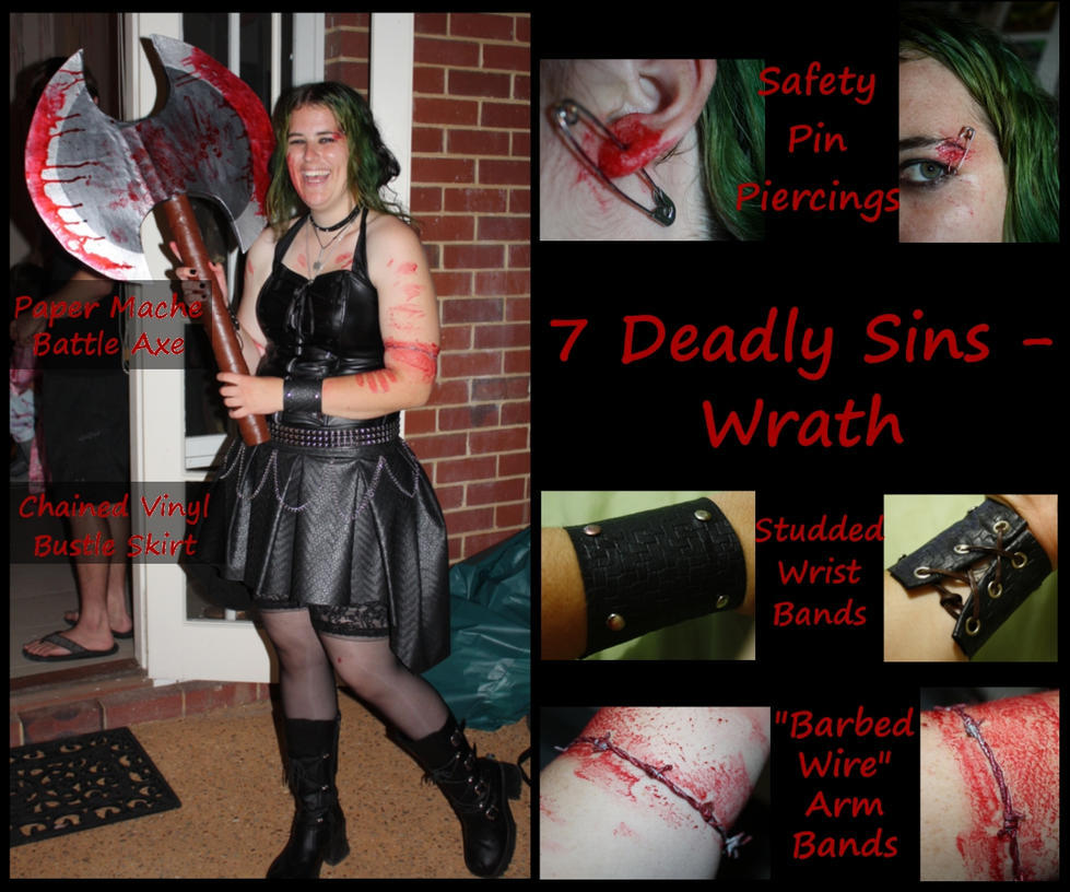 Deadly Sins Party Decorations