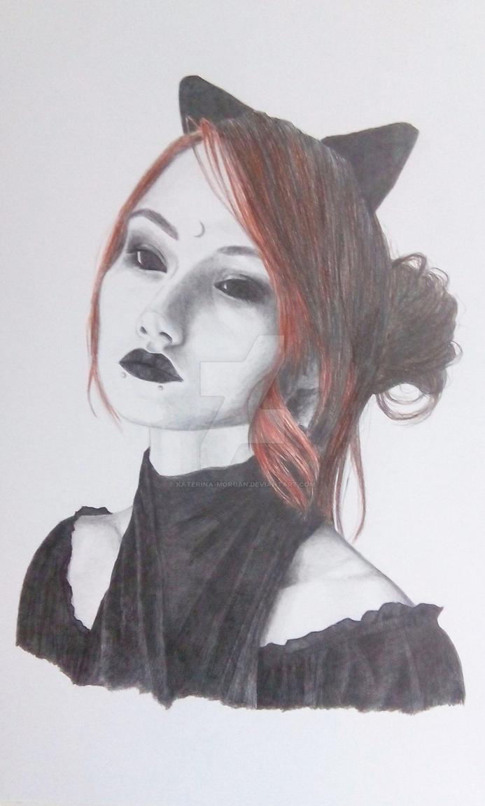 Gothic Girl by Katerina-Morgan