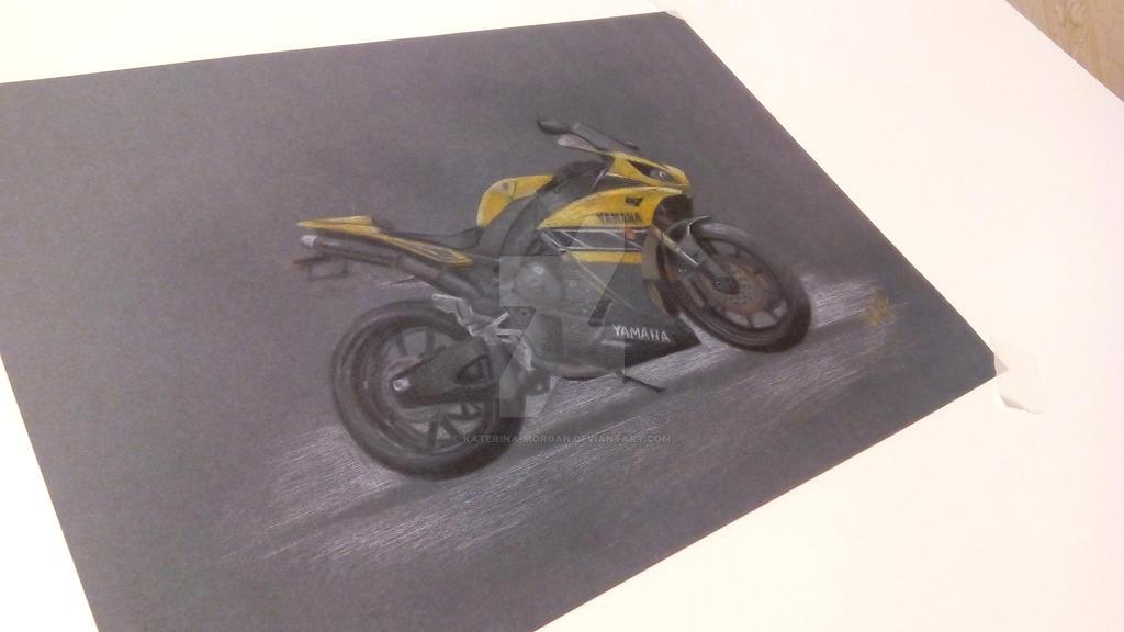 Yamaha R1 by Katerina-Morgan