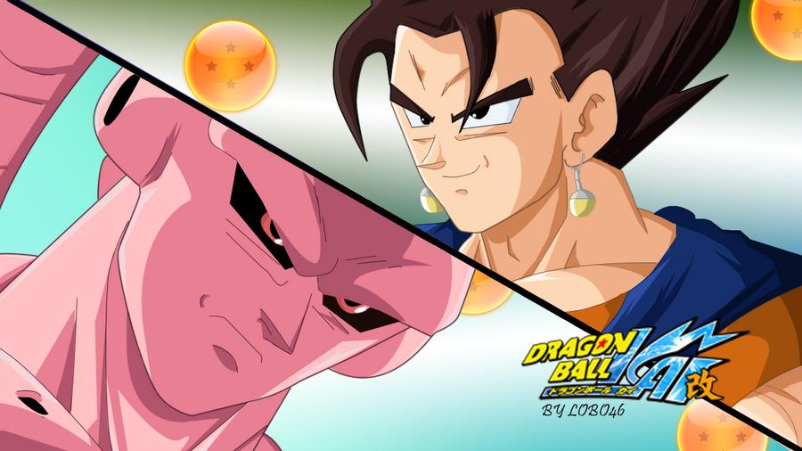 dragon ball kai vegetto vs buu by lobo46 on deviantart