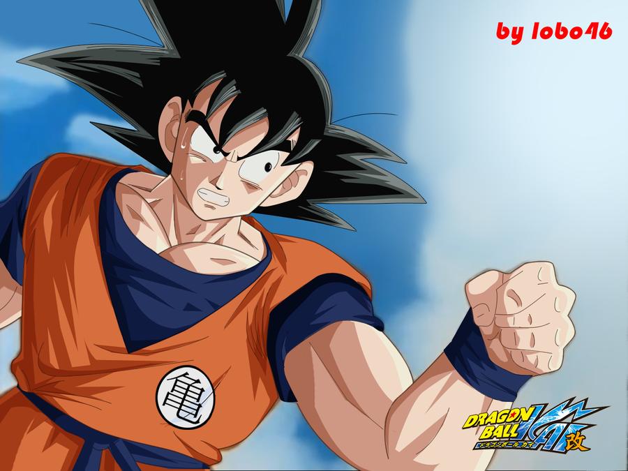 Normal Goku Dragon Ball Kai by lobo46 on DeviantArt