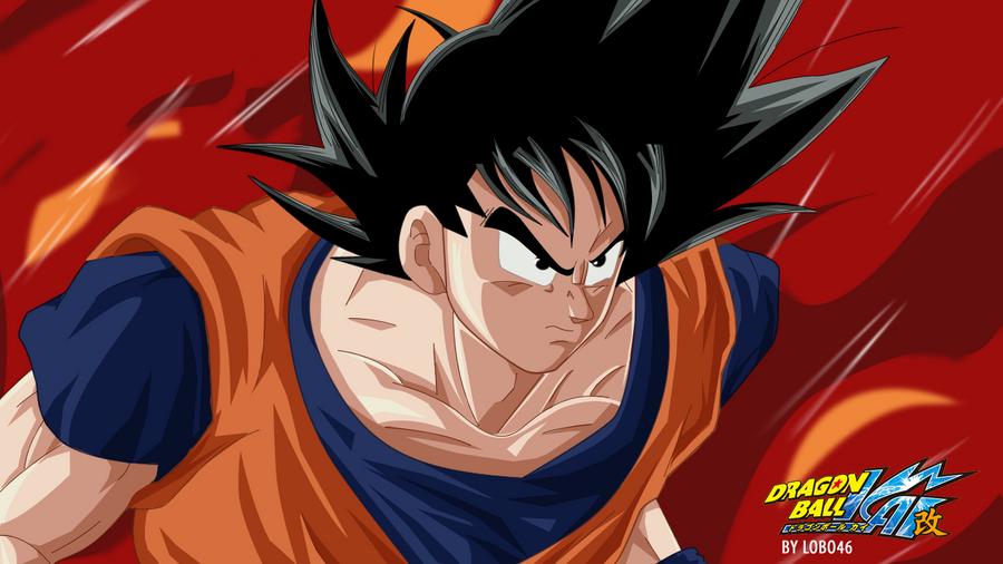 Normal Goku Dragon Ball kai 2 by lobo46 on DeviantArt
