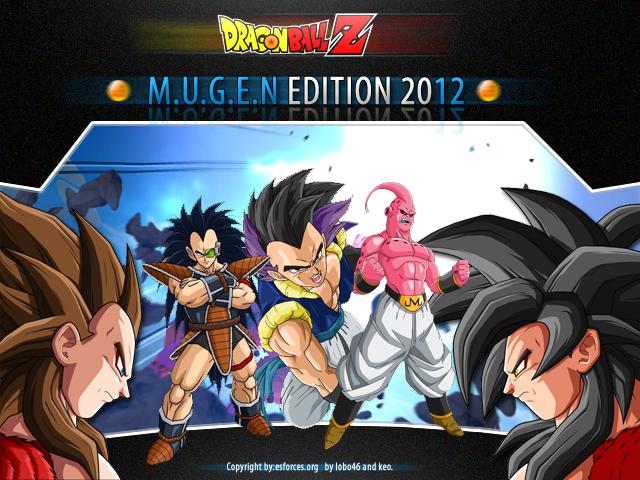 Dbz Mugen Edition 2012