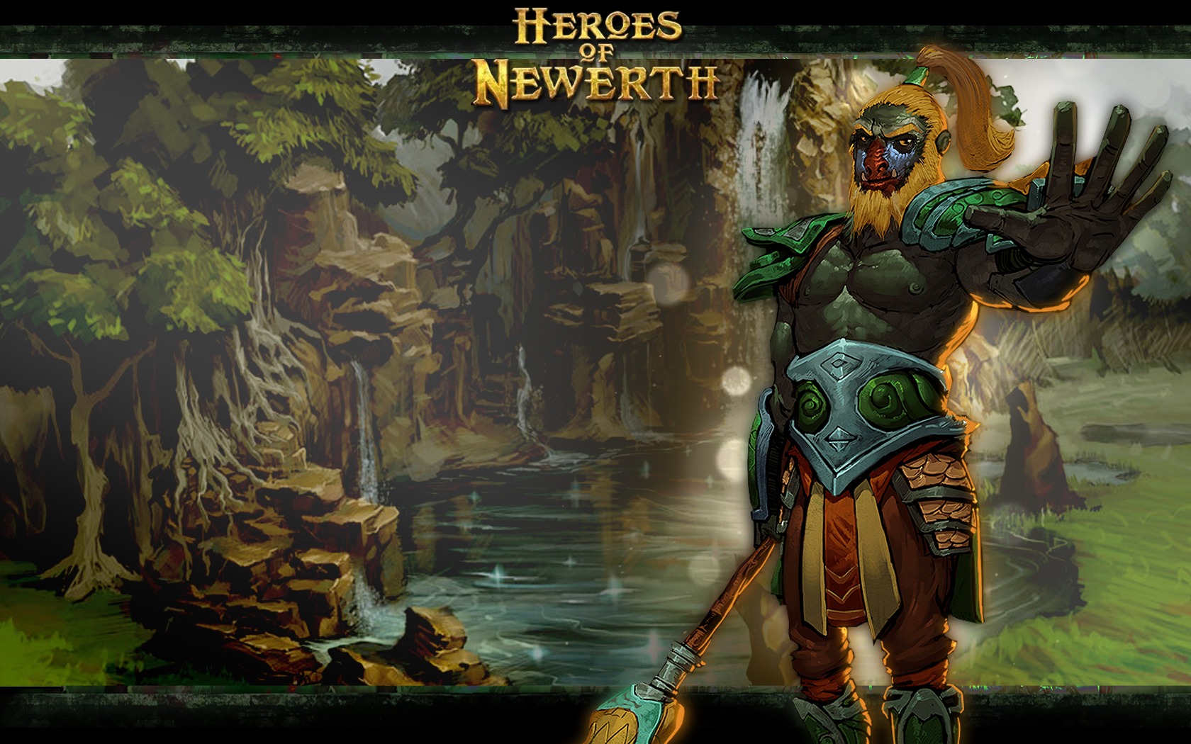heroes of newerth warrior - photo #1