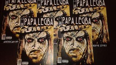Papa Legba Comic by MAGICARTWERX