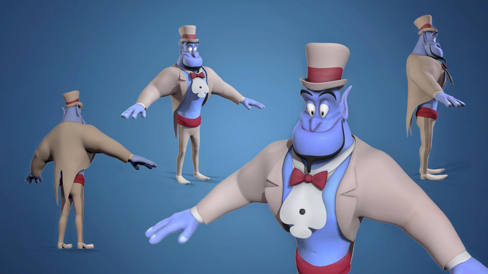 Aladdin Genie By NiFoxART