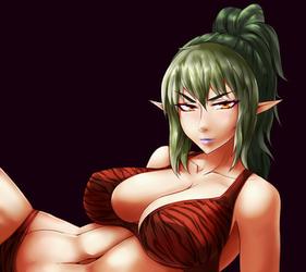 Echidna from Queen's Blade