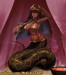 Egyptian monster girl snake