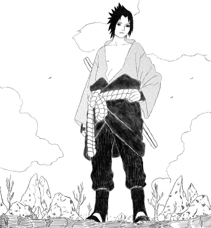 Sasuke by thanatopsis-mortis