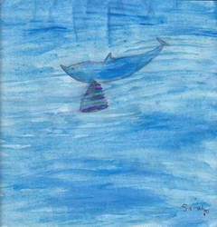 Dolphin with wings