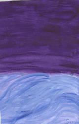 Ocean at Night II