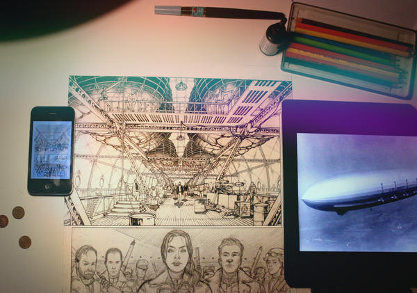 Skies of Fire sneak peek by Pablo-Pop