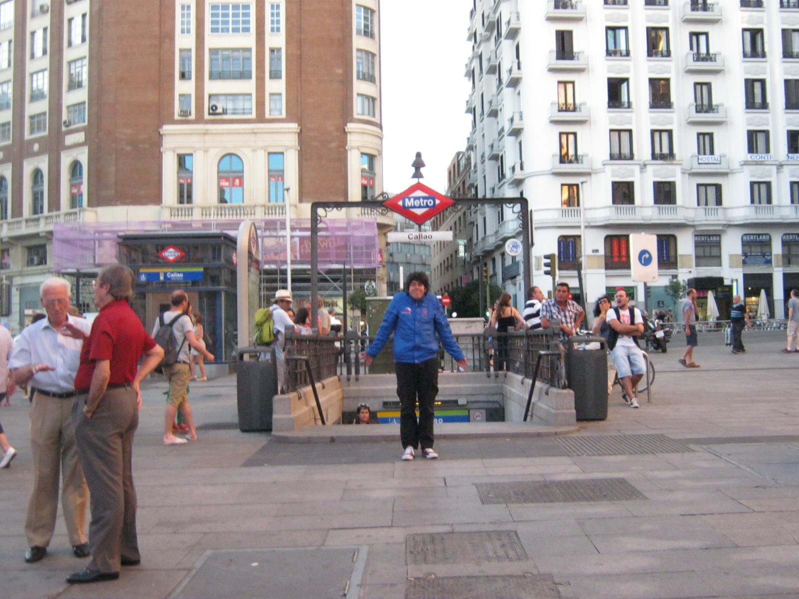 Yo en la Plaza del Callao by carlosfelo