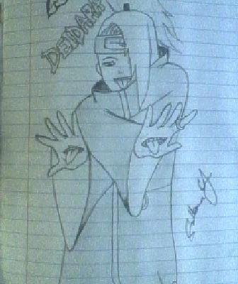 Deidara Art by EternalArtGirl740
