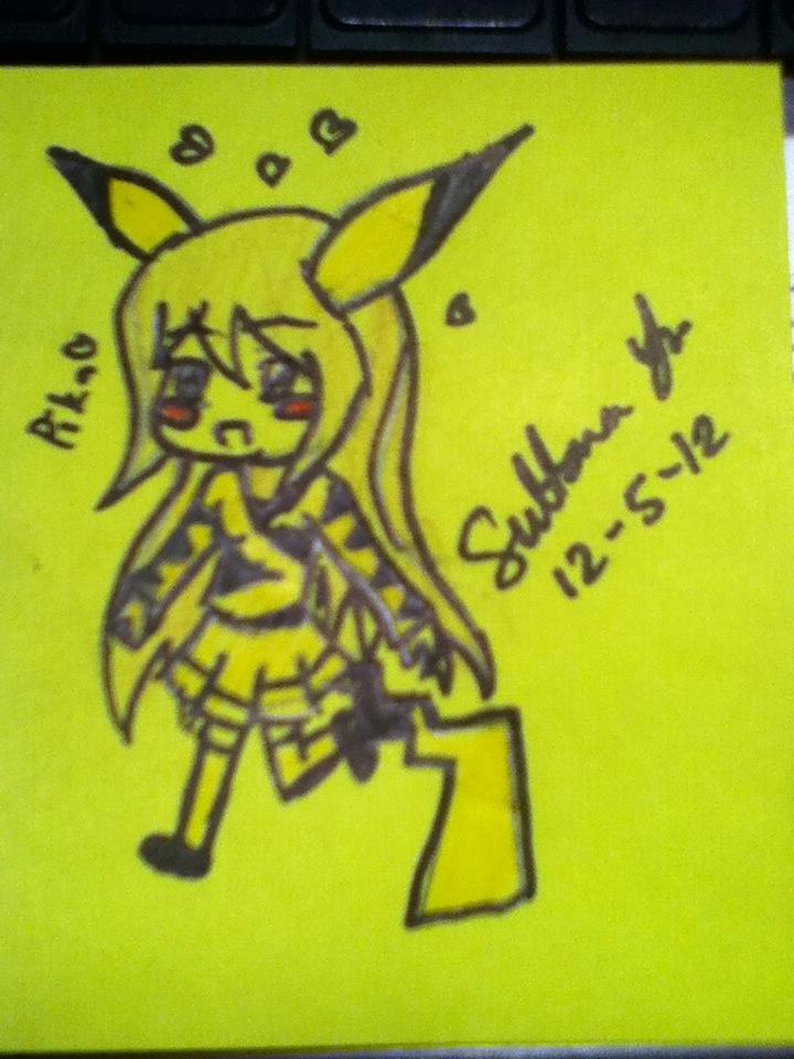 Pika Girl by EternalArtGirl740