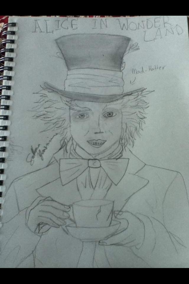 Mad Hatter by EternalArtGirl740