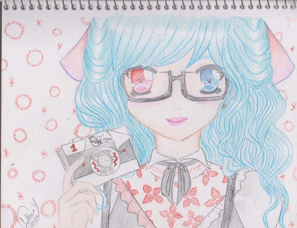Say Cheese (Miku Hatsune) by EternalArtGirl740
