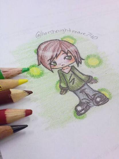 My OC Sekai. Chibi Ver. by EternalArtGirl740
