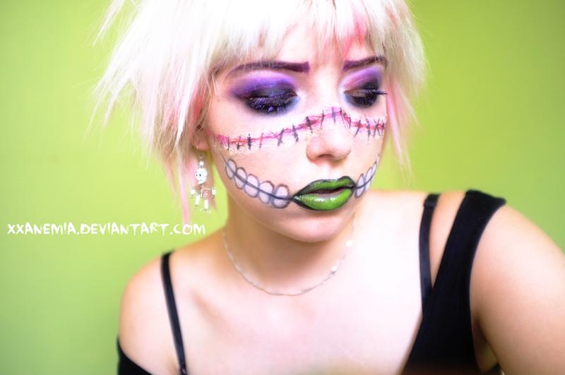 Halloween Spidella Makeup by XXAnemia
