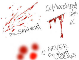 quick blood tips by XXAnemia
