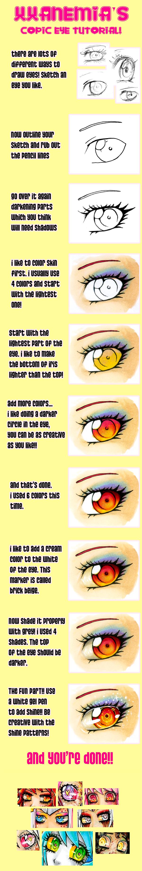 Copic Eye Tutorial by XXAnemia