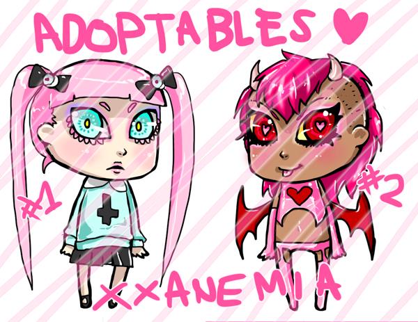ADOPTABLES by XXAnemia