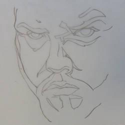 Stylized self portrait