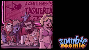ZR at the strip club by ZombieRoomie