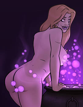 Glenda - Happy Nude Rear