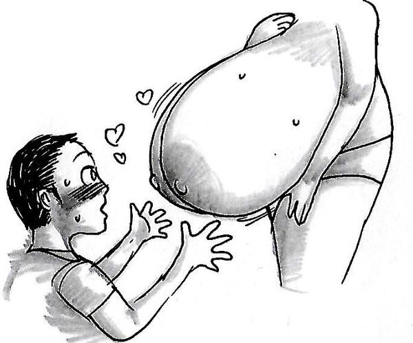 #giant breast worshipping (Tutorial#1) by onizukakawashima