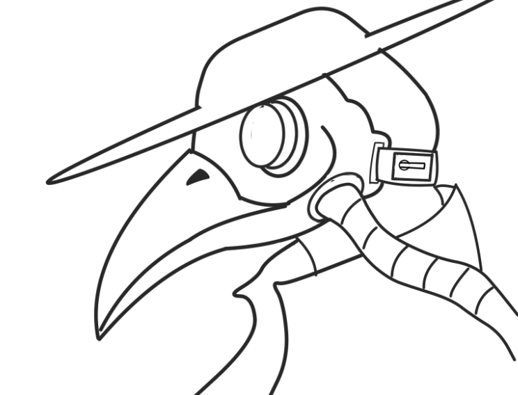 black death coloring pages | Plague Doctor by Pein-Rinnegan-Master on DeviantArt