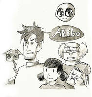 Inktober 21- Akiko