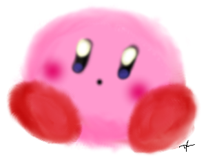 Kirby of the poyo by LaughingKirby