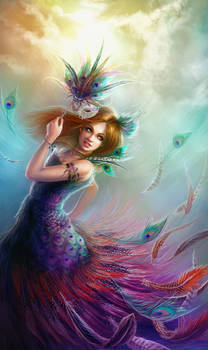 Peacock Girl - Collab with Jennyeight