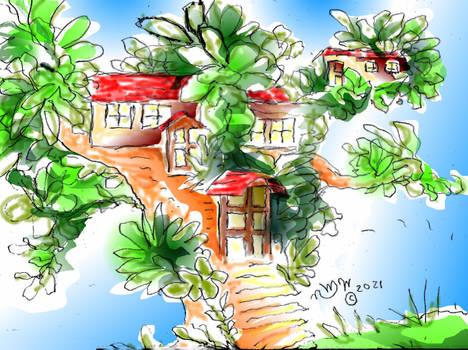21tb025a Tree house