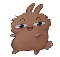 Potato Bunny [OC/Sona] by Balma-Bunny