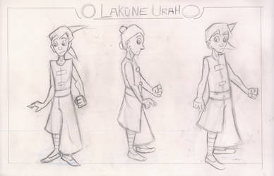 Lakune Urah Model Sheet by Tatsu5000