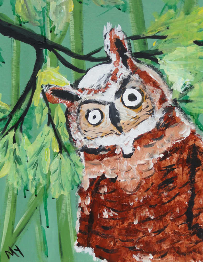 Crazy Owl by crazybirds