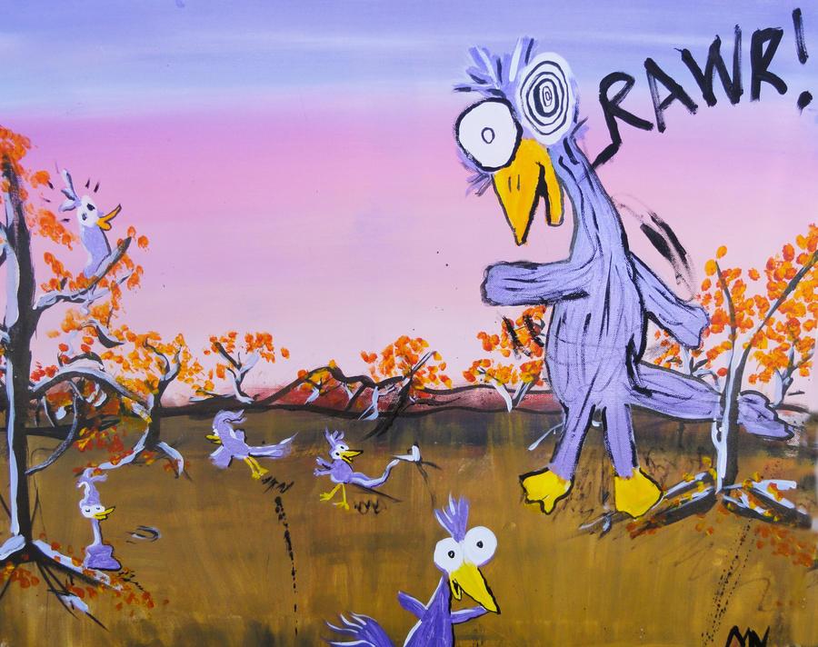 RAWR! by crazybirds